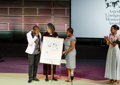 Astrid Lindgren Memorial Award acceptance