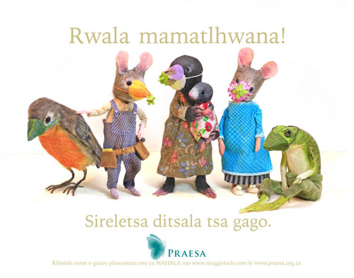 PRAESA-English-Mask Poster